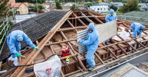 Building demolition and asbestos removal