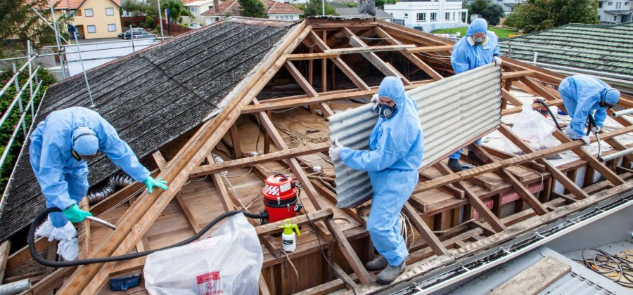 Building demolition and asbestos removal